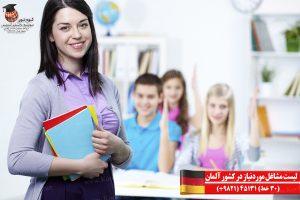 لیست مشاغل موردنیاز در کشور آلمان